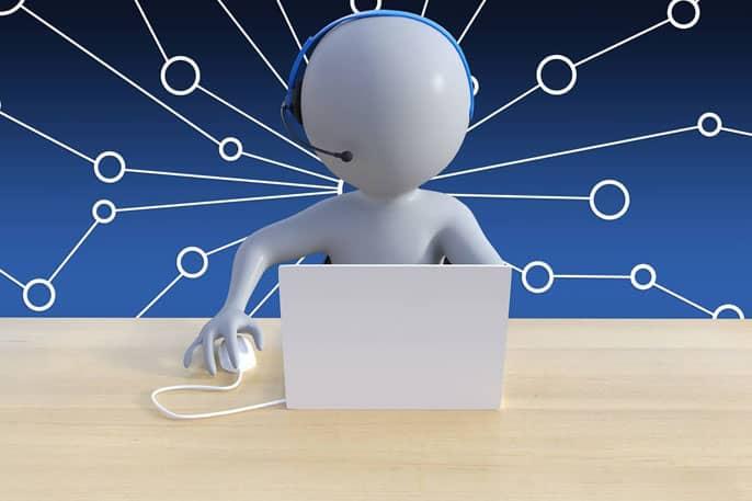 Call center virtual